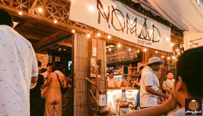 Nomad Craftbeerand Cafe บาร์สบายนั่งชิลที่เมืองแพร่