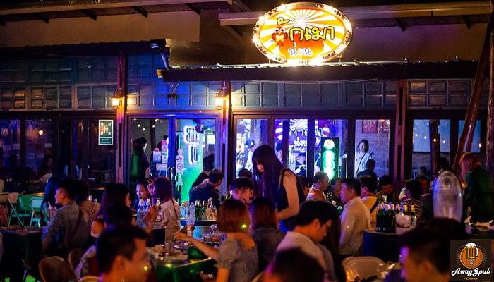 ฮักเมาน่าน ร้านเหล้ากึ่งผับบาร์ ยอดฮิตของวัยรุ่นเมืองน่าน