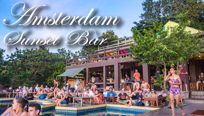 Amsterdam Sunset Bar บาร์สุดชิล ณ เกาะพะงัน awaygpub