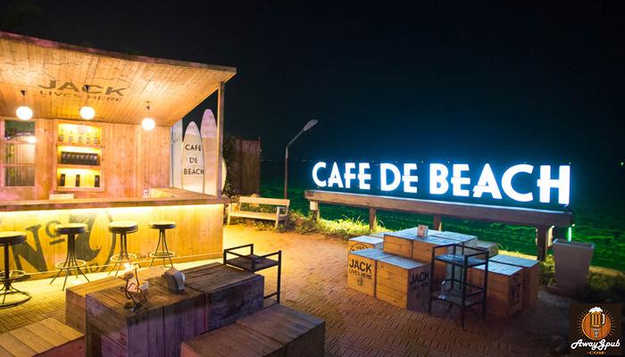 Cafe De Beach บาร์ริมทะเลบรรยากาศดีที่เมืองพัทยา
