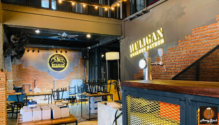 Huligan ร้านเหล้าสุดฮิตบรรยากาศชิลสุดๆ ในนครปฐม awaygpub