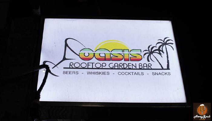 OASIS Rooftop Garden Bar มาสังสรรค์กันบนดาดฟ้าดูวิวเชียงใหม่ awaygpub