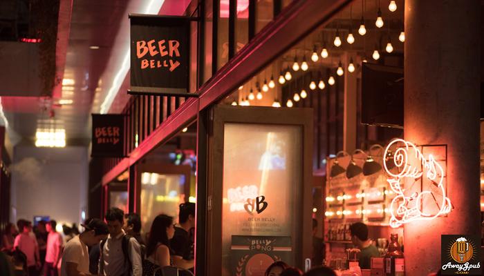 Beer Belly Bkk บาร์ที่คนรักเบียร์จะต้องรักในย่านทองหล่อ awaygpub