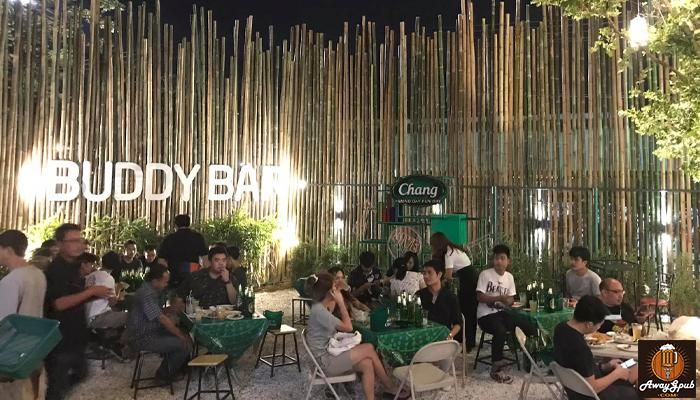 Buddy Bar ร้านนั่งชิวเบียร์โปรโมชั่นเอาใจคอบอลอุบลราชธานี awaygpub