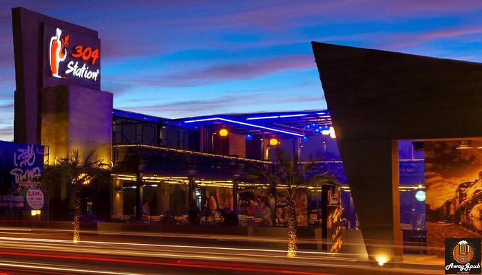 304 Station Restaurant ร้านเหล้าบรรยากาศดี ที่ปราจีนบุรี