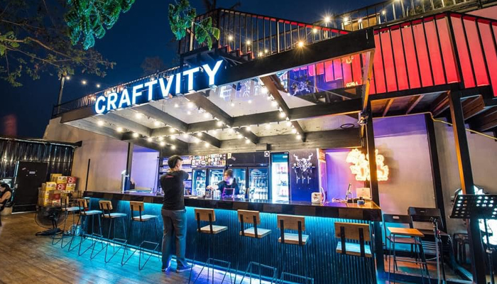 Craftvity ร้านเหล้าสุดชิคกับบรรยากาศสุดชิว ณ เมืองลำพูน
