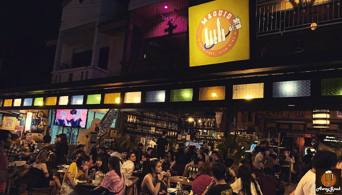 MAQUID Bar มะขวิดบาร์ ร้านเหล้าหัวหินที่รวมพลคนชอบดื่มawaygpub