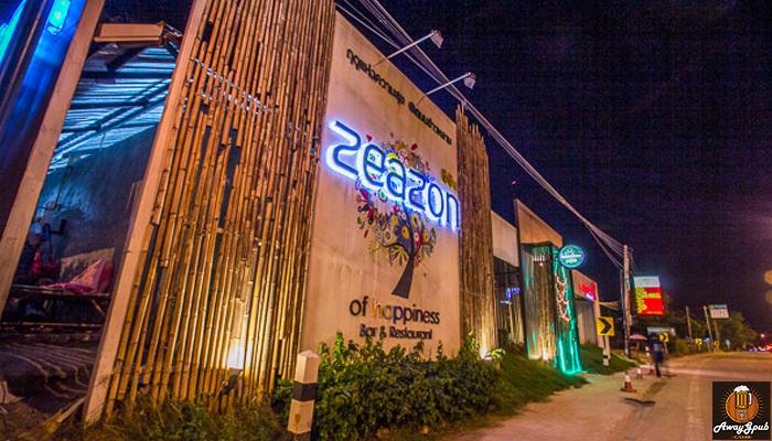 Zeazon Pub & Restaurant ดื่มชิลริมหาด ร้านเหล้าบางแสน awaygpub