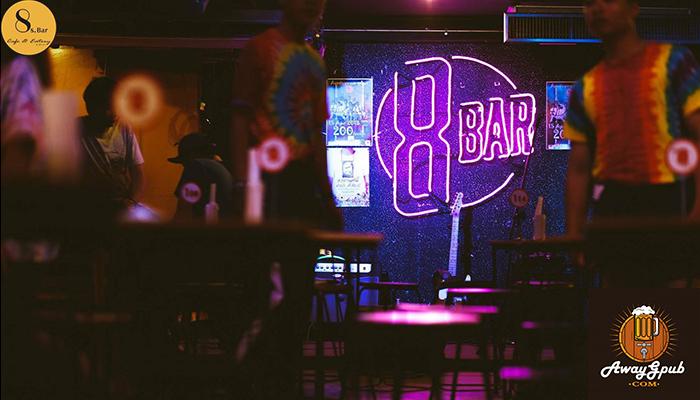 8s.Bar Cafe & Eatery ร้านเหล้าสุดฮิตในลำปาง