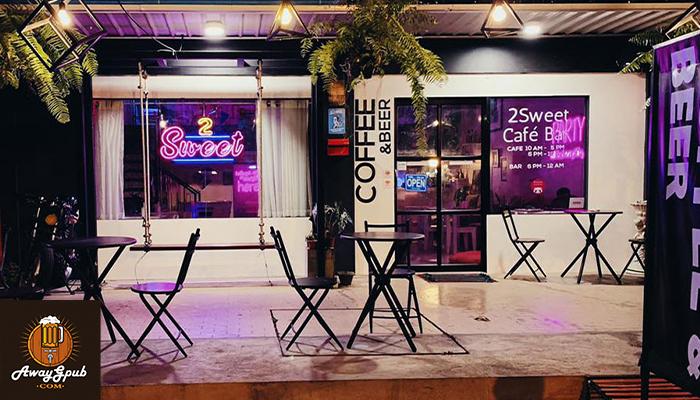 2sweet bar cafe ร้านเหล้า กึ่งคาเฟ่ภายในจังหวัดนครศรีธรรมราช